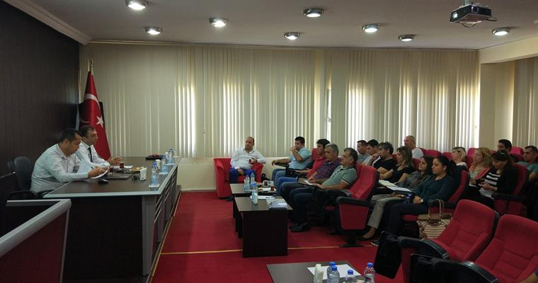 Institute Research Committee Meeting was held in Beymelek