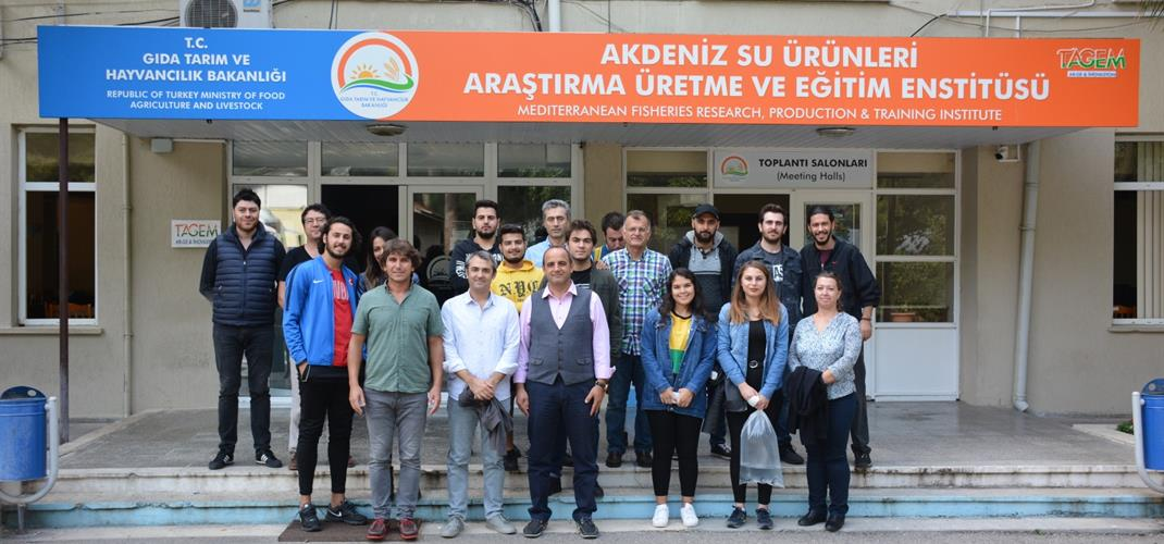 ​BACHELORS FROM AKDENİZ UNIVERSITY FACULTY OF FISHERIES VISITED TO OUR INSTITUTE