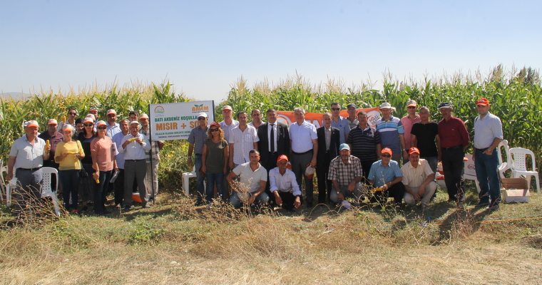 Demonstration Of Farmer's Conditions In Cooperation With The Isparta Directorate Of Provincial Food Agriculture And Livestock Was Carried Out On Field Day  Keçiborlu-Merkez District