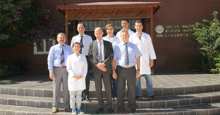 Netherlands Agricultural Consultant Jacob SATTER Visited BATEM
