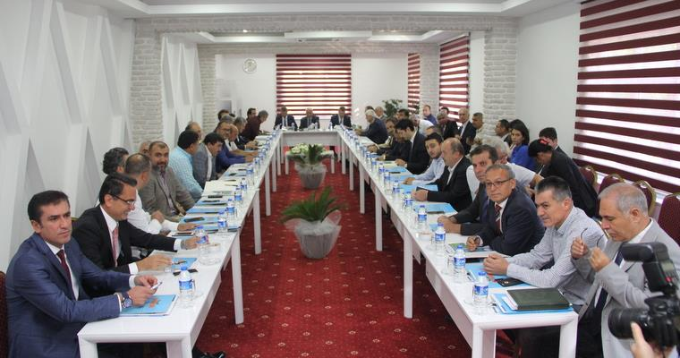 Representatives of the agriculture sector in Antalya came together at BATEM