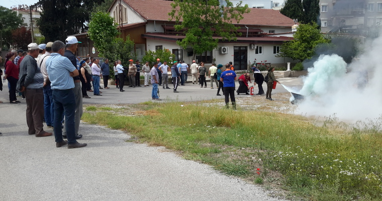 Disaster and Emergency Seminar Was Organised for Personnel of Bati Akdeniz Agricultural Research Institute.