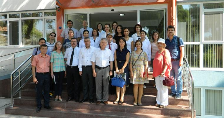 Technical Committee consisting of six agriculture engineers from Russian Ministry of Agriculture visited our Institute.