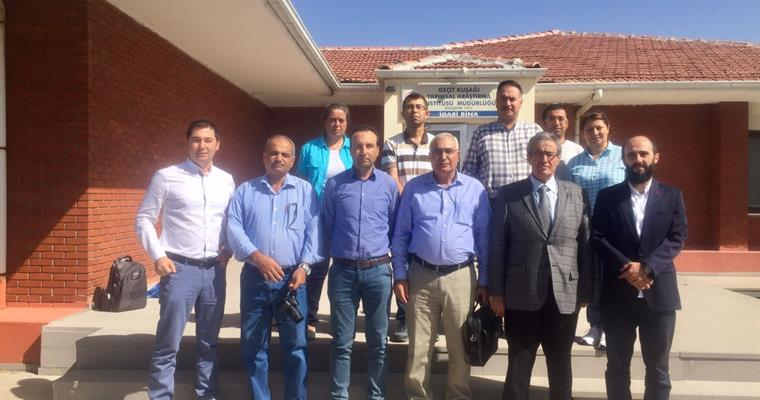Jordan National Center for Agricultural Research and Extension's Technical Staff Visited Our Institute