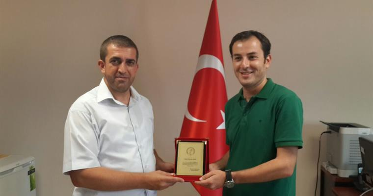 Our office staff of the Institute of Agricultural Engineers Burak UZUN has been appointed to Maize Research Institute.