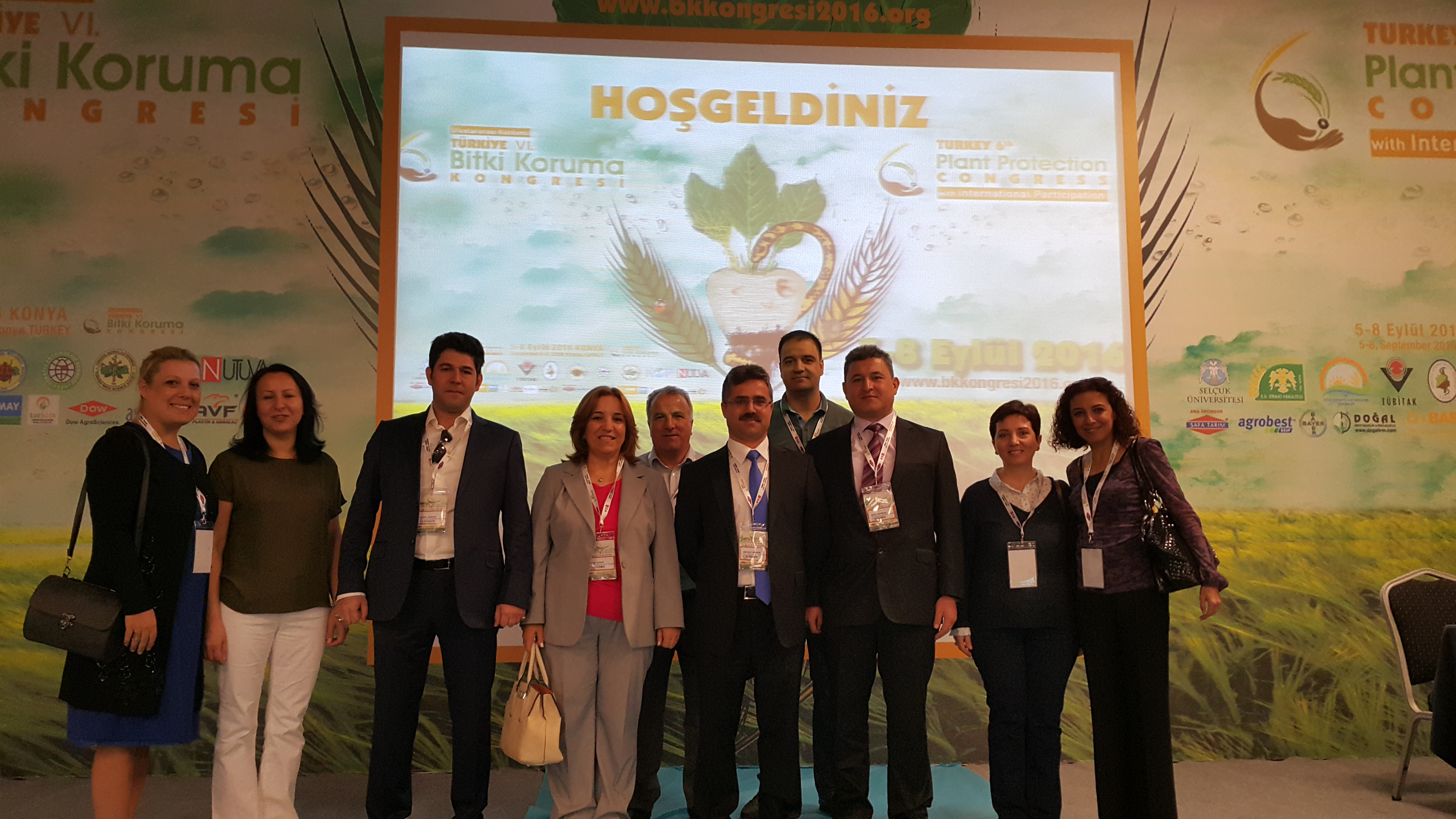 The Sixth Plant Protection Congress.